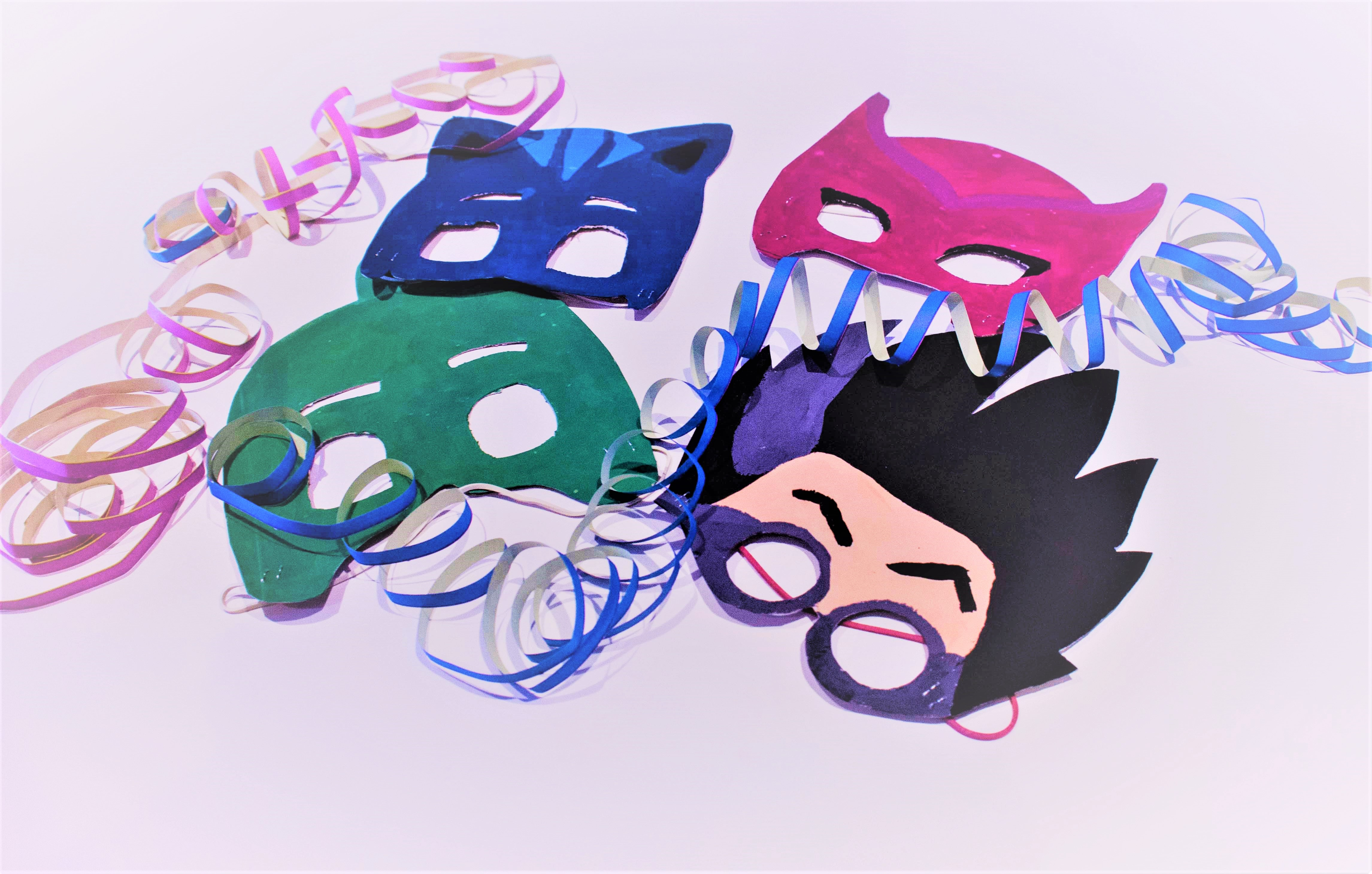 Pj Masks Diy Facciamo Le Maschere Per Carnevale Mammachefiglio It