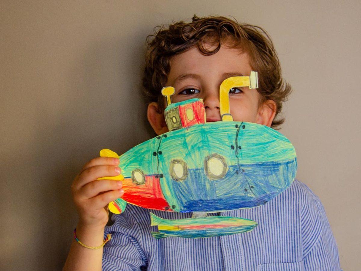 Cose Creative Con La Carta giochi con la carta per bambini: colora e ritaglia