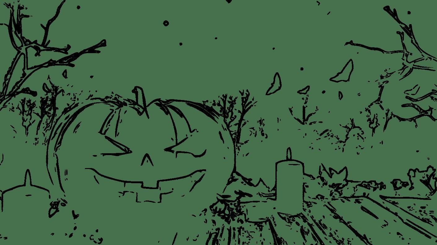 Disegni Colorare Halloween.12 Fantastici Disegni Halloween Da Colorare Mammachefiglio It