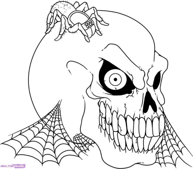 12 Fantastici Disegni Halloween Da Colorare Mammachefiglio It