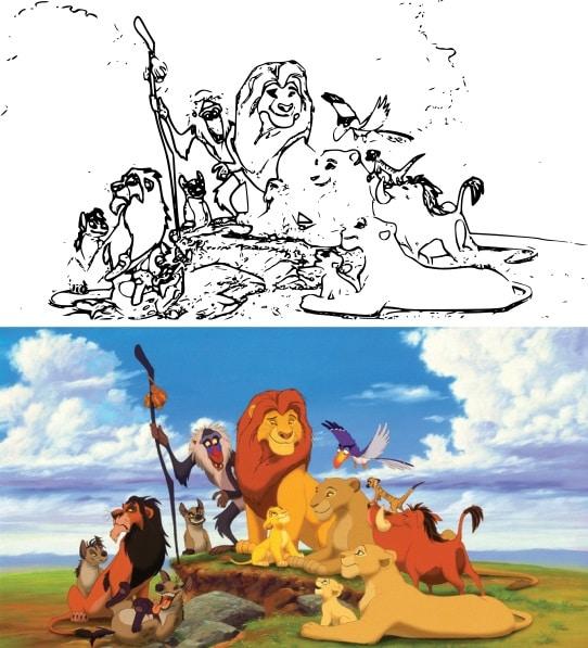 Disegni Walt Disney Da Stampare E Colorare Mammachefiglio It