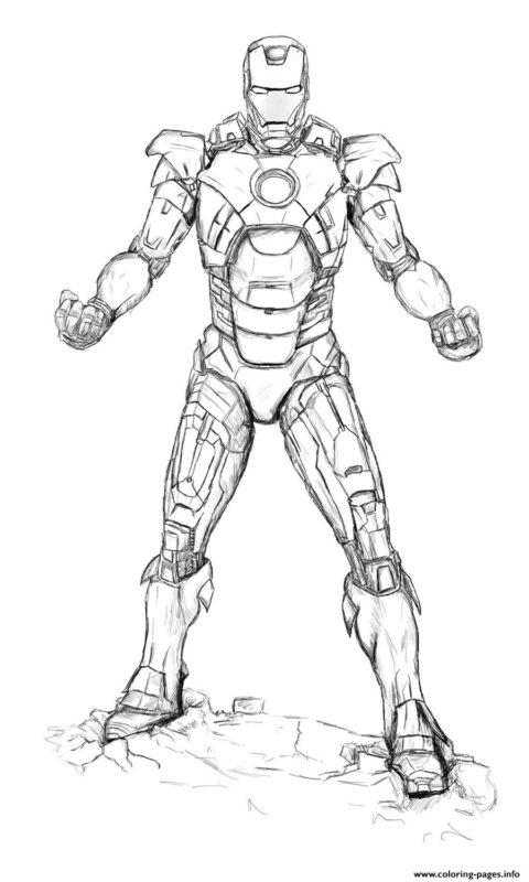 Disegni Da Colorare Con Iron Man.Disegni Da Colorare E Stampare Per Bambini Mammachefiglio It