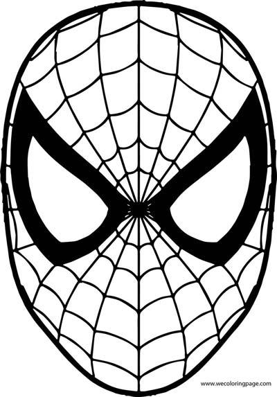 Maschera Di Spiderman Da Colorare.Disegni Da Colorare E Stampare Per Bambini Mammachefiglio It